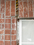 brick separating due to foundation movement